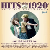 Album artwork for HITS OF THE 1920S VOL. 2 (1921 - 1923)
