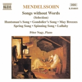 Album artwork for MENDELSSOHN: Songs without Words (Selection)