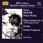 Album artwork for Joseph Soler: PIANO WORKS