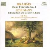 Album artwork for Brahms: Piano Concerto No. 1 / Schumann (Biret)