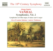Album artwork for Vanhal: SYMPHONIES, VOL. 2