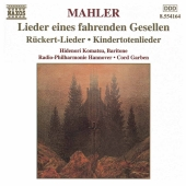 Album artwork for KINDERTOTENLIEDER