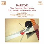 Album artwork for Bartok: Viola Concerto, Two Pictures (Xiao/Kovacs)