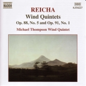 Album artwork for Reicha: Wind Quintets / Michael Thompson Quintet