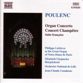 Album artwork for ORGAN CONCERTO  CONCERT CHAMPETRE
