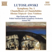 Album artwork for Lutoslawski : Symphony No. 1, Chantefleurs et Chan