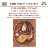 Album artwork for ELIZABETHAN SONGS AND CONSORT MUSIC