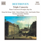 Album artwork for Beethoven: Triple Concerto, Piano Concerto (Drahos