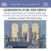 Album artwork for GERSHWIN FOR TRUMPET