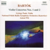 Album artwork for VIOLIN CONCERTOS NOS.1 & 2