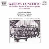 Album artwork for Warsaw Concerto Concertos from the Movies / Fowke
