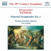 Album artwork for Vanhal: SYMPHONIES VOLUME 1