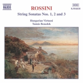 Album artwork for STRING SONATAS