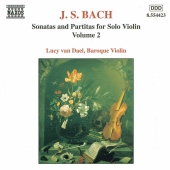 Album artwork for Bach: Sonatas & Partitas Vol. 2