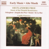 Album artwork for OH FLANDERS FREE - MUSIC OF THE FLEMISH RENAISSANC