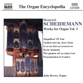 Album artwork for WORKS FOR ORGAN, VOL. 3