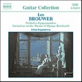 Album artwork for BROUWER: GUITAR MUSIC, VOL. 2