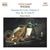 Album artwork for SONATAS FOR LUTE, VOLUME 4