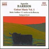 Album artwork for BARRIOS: GUITAR MUSIC, VOLUME 1