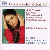 Album artwork for GUITAR RECITAL / Vidovic