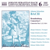Album artwork for Bach: Brandenburg Concertos I (Nos. 1-3 & 6)