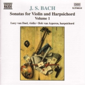 Album artwork for Bach: Sonatas for Violin and Harpsichord, Vol. 1