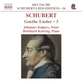 Album artwork for SCHUBERT: GOETHE LIEDER