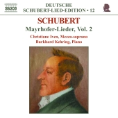 Album artwork for SCHUBERT: MAYRHOFER-LIEDER VOL.2
