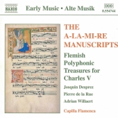 Album artwork for Capilla Flamenca: A-La-Mi-Re Manuscripts