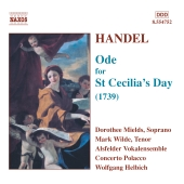 Album artwork for ODE FOR ST. CECILIA'S DAY