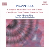 Album artwork for COMPLETE MUSIC FOR FLUTE AND GUITAR