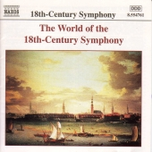 Album artwork for WORLD OF THE 18TH CENTURY SYMPHONY