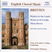 Album artwork for ENGLISH CHORAL MUSIC