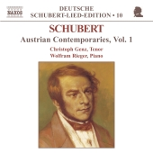 Album artwork for Schubert: Austrian Contemporaries