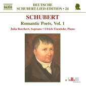 Album artwork for SCHUBERT: ROMANTIC POETS, VOL. 1