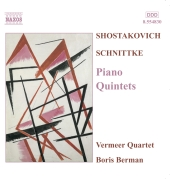 Album artwork for SHOSTAKOVICH - PIANO QUINTETS