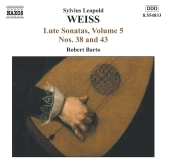 Album artwork for LUTE SONATAS, VOLUME 5