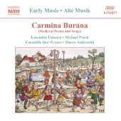 Album artwork for CARMINA BURANA (Medieval Poems & Songs)