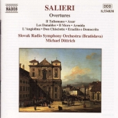 Album artwork for Salieri: Overtures