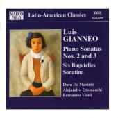 Album artwork for Gianneo: PIANO WORKS, VOL. 1