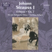 Album artwork for JOHANN STRAUSS I EDITION, VOLUME 2