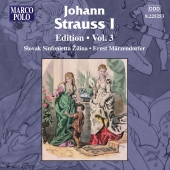 Album artwork for JOHANN STRAUSS EDITION, VOLUME 3