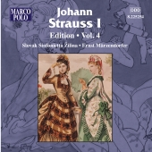 Album artwork for JOHANN STRAUSS EDITION, VOL. 4