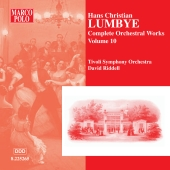 Album artwork for COMPLETE ORCHESTRAL WORKS, VOL. 10