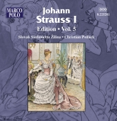 Album artwork for JOHANN STRAUSS EDITION, VOL. 5