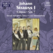 Album artwork for JOHANN STRAUSS 1 - EDITION VOLUME 7