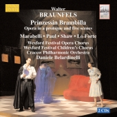 Album artwork for BRAUNFELS: PRINZESSIN BRAMBILLA