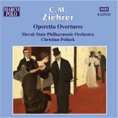 Album artwork for ZIEHRER - OPERETTA OVERTURES