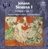 Album artwork for J. Strauss I: Edition Vol. 22
