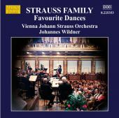 Album artwork for Strauss Family: Favourite Dances